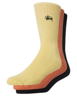MULTI MENS CLOTHING STUSSY SOCKS + UNDERWEAR - ST782007MUL