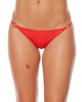RED HOT WOMENS SWIMWEAR BILLABONG BIKINI BOTTOMS - 6572681RED