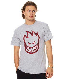ATHLETIC HEATHER MENS CLOTHING SPITFIRE TEES - 51010925XAHTR