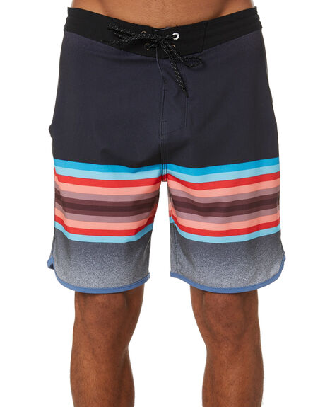BLACK MENS CLOTHING HURLEY BOARDSHORTS - CU0689010