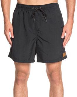 BLACK MENS CLOTHING QUIKSILVER BOARDSHORTS - EQYJV03396-KVJ0