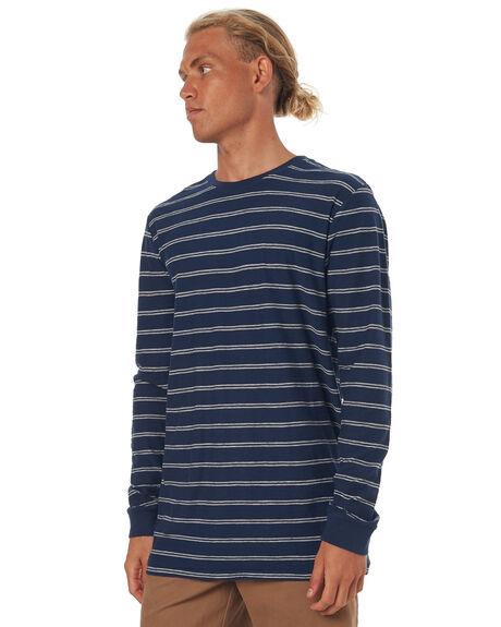 NAVY MARLE MENS CLOTHING RUSTY TEES - TTM1826NMA