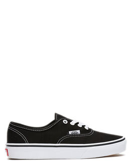 BLACK WHITE KIDS BOYS VANS SNEAKERS - VN-0WWX6BTBLKW