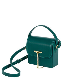 HUNTER GREEN WOMENS ACCESSORIES SANCIA BAGS + BACKPACKS - 146BHGRN