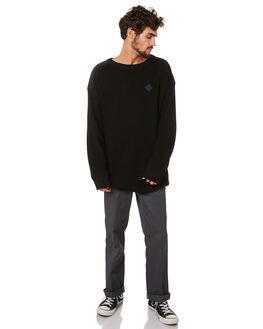 BLACK MENS CLOTHING RPM KNITS + CARDIGANS - 20AM17A2BLACK