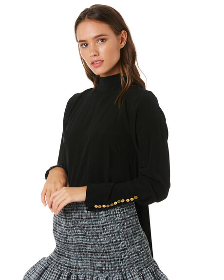 BLACK OUTLET WOMENS MLM LABEL FASHION TOPS - MLM517BBLK