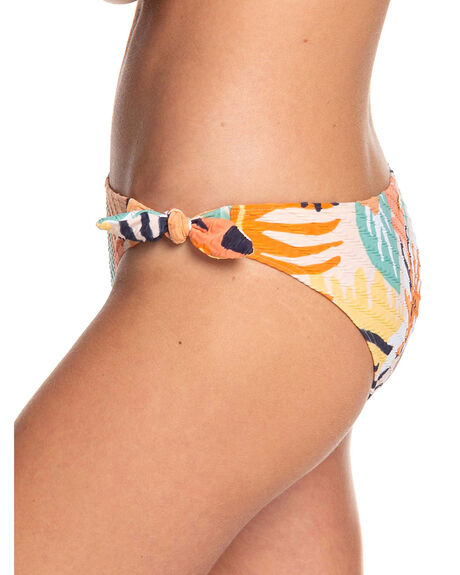 PEACH BLUSH S WOMENS SWIMWEAR ROXY BIKINI BOTTOMS - ERJX403891-MDT6