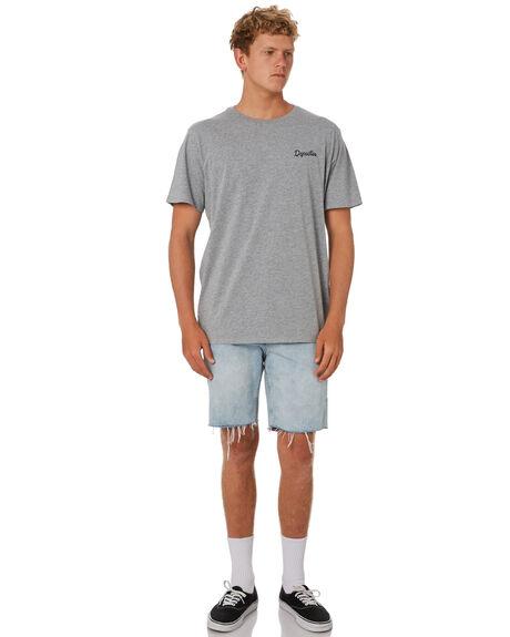 GREY MARLE MENS CLOTHING DEPACTUS TEES - D5202003GRYMA