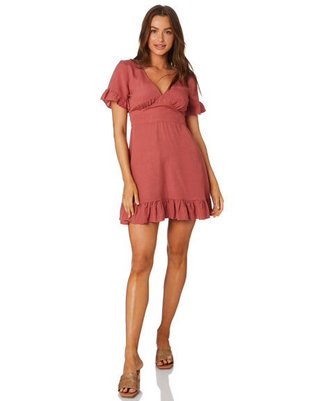 ROSE WOMENS CLOTHING TIGERLILY DRESSES - T305462ROS