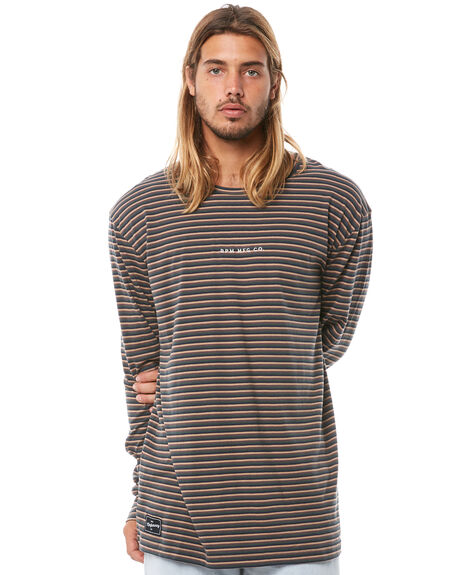ARMY STRIPE MENS CLOTHING RPM TEES - 8ATM07AASTRP