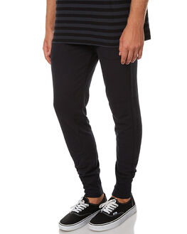 BLACK MENS CLOTHING BONDS PANTS - AYPWIBAC