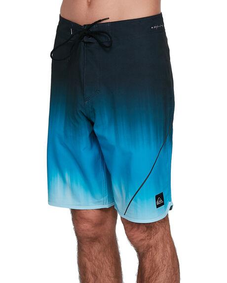 PUNCH BLUE MENS CLOTHING QUIKSILVER BOARDSHORTS - EQYBS04266-BRN6