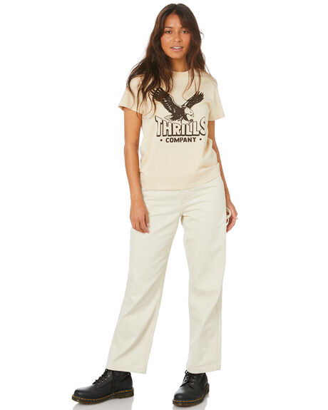 THRIFT WHITE WOMENS CLOTHING THRILLS TEES - WTH20-110A_TWHT