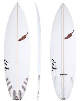 CLEAR BOARDSPORTS SURF CHILLI SURFBOARDS - CHSTEPDOWN2CLR