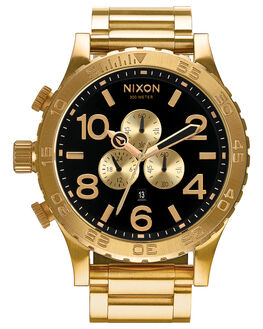 ALL GOLD BLACK MENS ACCESSORIES NIXON WATCHES - A083510