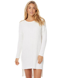 WHITE WOMENS CLOTHING ZULU AND ZEPHYR DRESSES - ZZ1461WHT