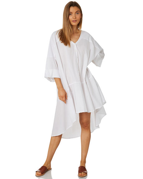 WHITE WOMENS CLOTHING ZULU AND ZEPHYR DRESSES - ZZ2350WHT