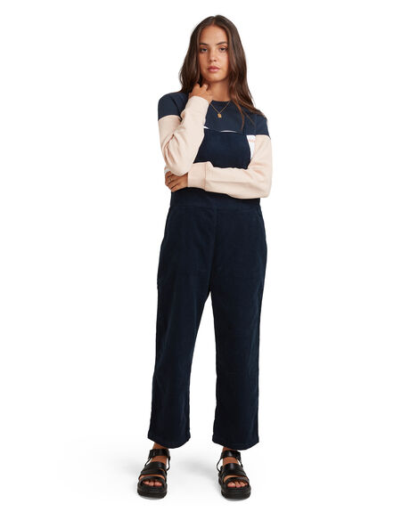 NAVY WOMENS CLOTHING ELEMENT PLAYSUITS + OVERALLS - EL-217867-NVY