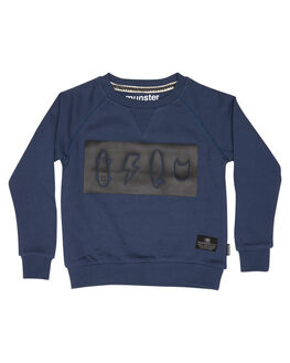 BLUE KIDS TODDLER BOYS MUNSTER KIDS JUMPERS + JACKETS - MK172FL15BLU