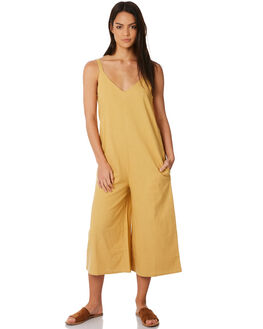 HONEY GOLD WOMENS CLOTHING BILLABONG PLAYSUITS + OVERALLS - 6572508HONE
