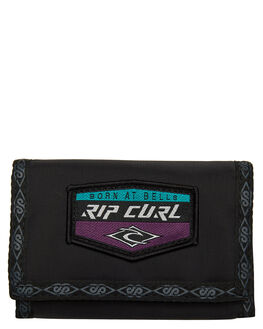 BLACK MENS ACCESSORIES RIP CURL WALLETS - BWUWB10090