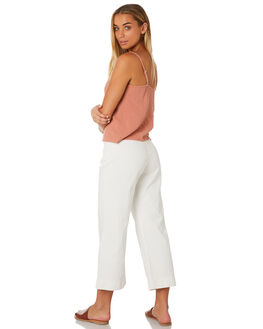 WHITE WOMENS CLOTHING RHYTHM PANTS - JUL19W-PA02WHT