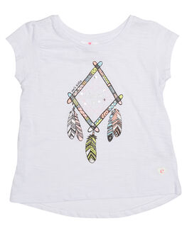 WHITE KIDS TODDLER GIRLS EVES SISTER TEES - 8000044WHT