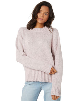 PALE PINK WOMENS CLOTHING ELEMENT KNITS + CARDIGANS - 296421PPNK