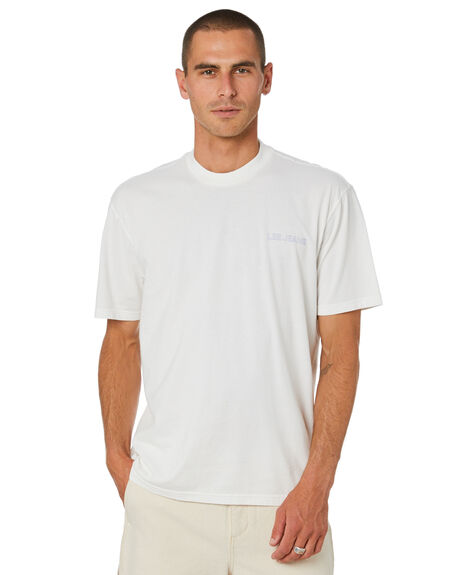 VINTAGE WHITE MENS CLOTHING LEE TEES - L-602074-066