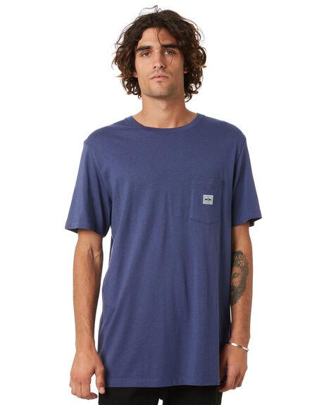 HEMP CROWN BLUE MENS CLOTHING DEPACTUS TEES - D5211000HMPCB