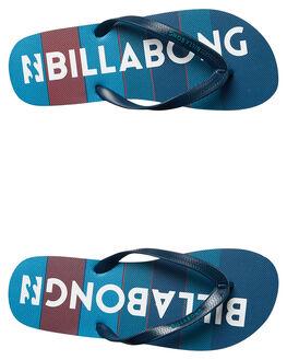 NAVY MENS FOOTWEAR BILLABONG THONGS - 9672934NVY