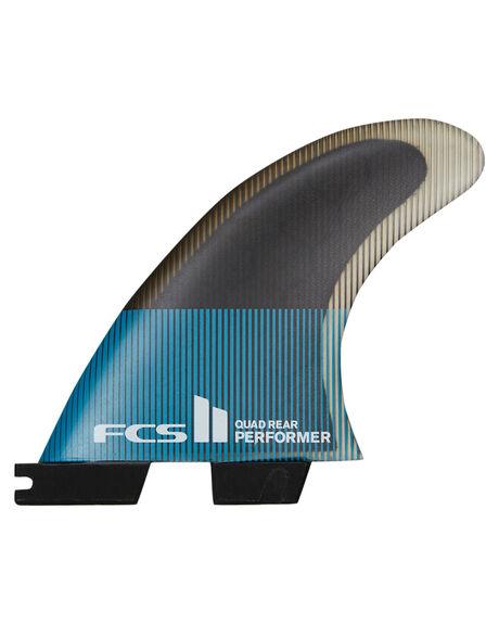 TEAL BLACK BOARDSPORTS SURF FCS FINS - FPER-PC04-RS-RTEABK