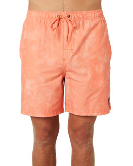 HOT CORAL MENS CLOTHING RUSTY BOARDSHORTS - WKM0944HCL