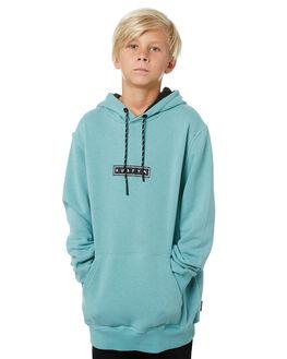 OIL BLUE KIDS BOYS RUSTY JUMPERS + JACKETS - FTB0282OLBLU
