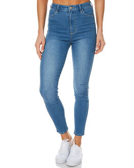 OFF KILTER BLUE WOMENS CLOTHING RIDERS BY LEE JEANS - R-551218-CG1OFFK
