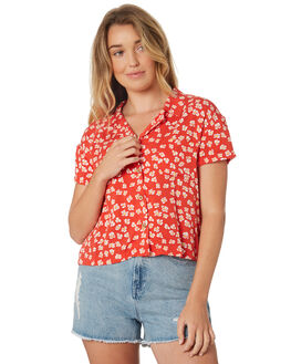 RED WOMENS CLOTHING INSIGHT FASHION TOPS - 5000003224RED