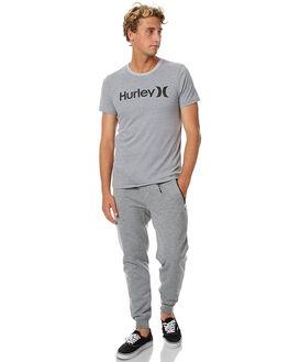 DARK HEATHER GREY MENS CLOTHING HURLEY PANTS - MFB000075006G