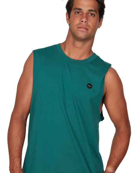 ALPINE MENS CLOTHING RVCA SINGLETS - RV-R106007-ALP