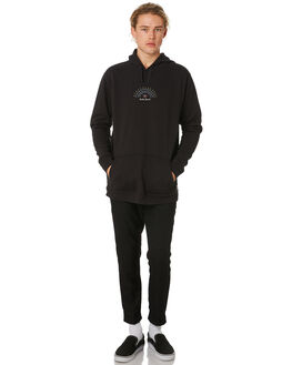 DIRTY BLACK MENS CLOTHING BANKS JUMPERS - WFL0190DBL