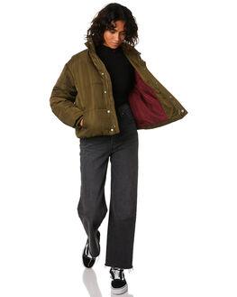 MILITARY WOMENS CLOTHING RVCA JACKETS - R293441MIL