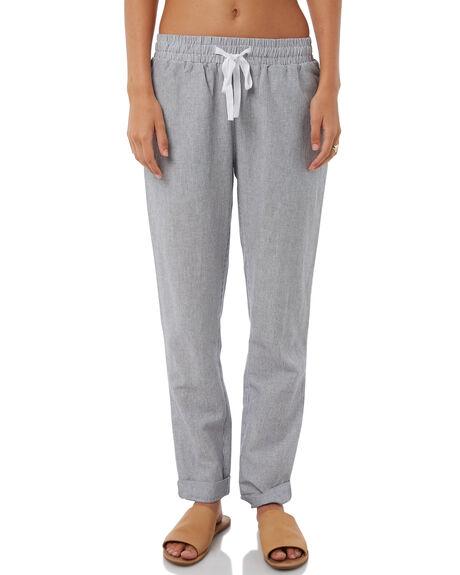 NAVY STRIPE WOMENS CLOTHING ELWOOD PANTS - W81614NAVY