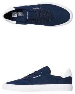 COLLEGIATE NAVY MENS FOOTWEAR ADIDAS SKATE SHOES - SSB22707NVYM