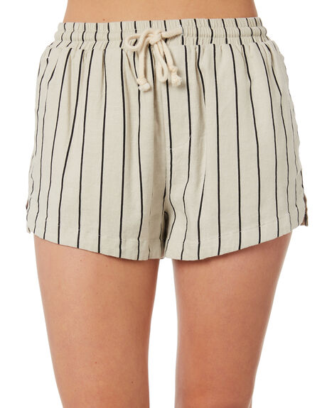 STRIPE OUTLET WOMENS SWELL SHORTS - S8184233STRIP