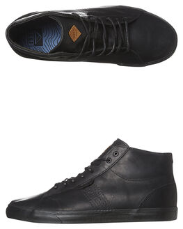 BLACK MENS FOOTWEAR REEF SNEAKERS - A2XMQBLA