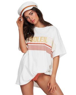 CLOUD WOMENS CLOTHING BILLABONG TEES - BB-6591136-C08