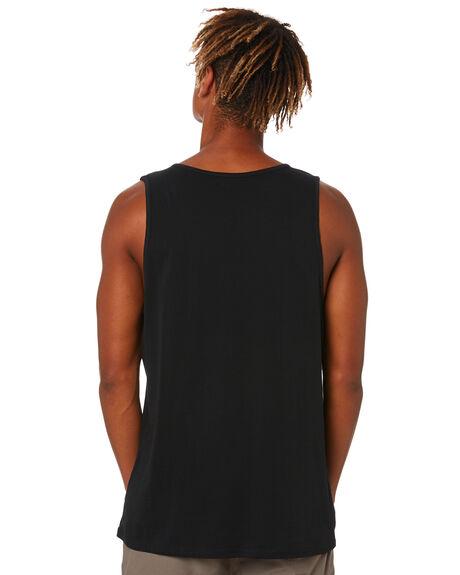 BLACK WHEAT MENS CLOTHING HURLEY SINGLETS - MTTTFSTG011