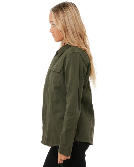 LEAF WOMENS CLOTHING RHYTHM JACKETS - JKT00W-JK01-LEALEAF