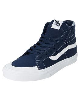 BLUE WOMENS FOOTWEAR VANS SNEAKERS - SSVNA3TKPT24W