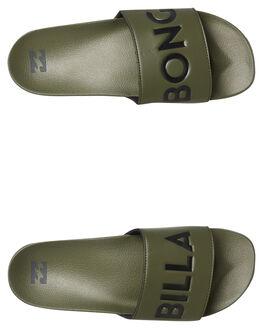 MILITARY MENS FOOTWEAR BILLABONG SLIDES - 9685943MILI