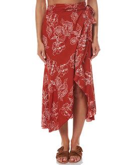 RUST WOMENS CLOTHING RUE STIIC SKIRTS - SRC3RUST